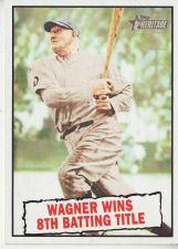 Buy 2010 Topps Heritage #410 Honus Wagner