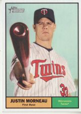 Buy 2010 Topps Heritage #420 Justin Morneau