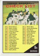 Buy 2010 Topps Heritage #423 Checklist