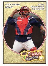 Buy 2008 Upper Deck Heroes #52 - Victor Martinez - Indians