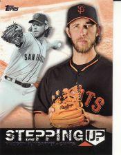 Buy 2015 Topps Stepping Up #SU-11 - Madison Bumgarner - Giants