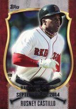 Buy 2015 Topps First Home Run 2 #FHR-22 - Rusney Castillo - Red Sox