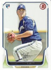 Buy 2014 Bowman #129 - Jimmy Nelson - Brewers