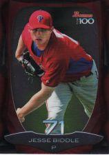 Buy 2013 Bowman Top 100 Prospects #BTP-71 - Jesse Biddle - Phillies