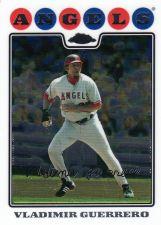 Buy 2008 Topps Chrome #27 - Vladimir Guerrero - Angels