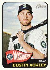 Buy 2014 Topps Heritage #381 - Dustin Ackley - Mariners