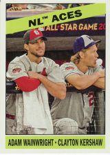 Buy 2015 Topps Heritage #273 - Wainwright - Kershaw - Cardinals - Dodgers