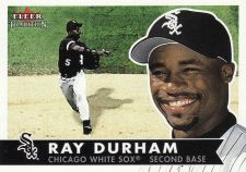Buy 2001 Fleer Tradition #148 - Ray Durham - White Sox