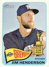 Buy 2014 Topps Heritage #292 - Jim Henderson - Brewers