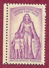 Buy US 3 Cent Stamp Polio 1962