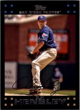 Buy 2007 Topps Red Back #218 Clay Hensley