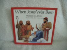 "Buy 1994 ""When Jesus Was Born"" by Maryann J. Dotts"
