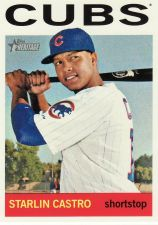 Buy 2013 Topps Heritage #485 - Starlin Castro - Cubs
