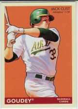 Buy 2009 Upper Deck Goudey #148 - Jack Cust - Athletics