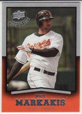 Buy 2008 Upper Deck Timeline #34 - Nick Markakis - Orioles