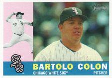 Buy 2009 Topps Heritage #516 - Bartolo Colon - White Sox