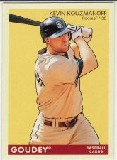 Buy 2009 Upper Deck Goudey #166 - Kevin Kouzmanoff - Padres