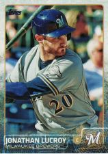 Buy 2015 Topps #675 - Jonathan Lucroy - Brewers