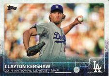 Buy 2015 Topps #545 - Clayton Kershaw - Dodgers