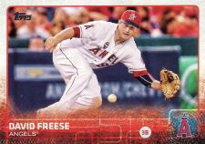 Buy 2015 Topps #610 - David Freese - Angels
