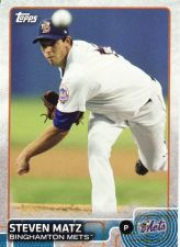 Buy 2015 Topps Pro Debut #18 - Stephen Matz