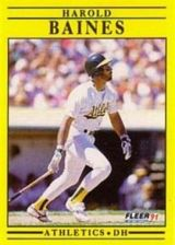 Buy 1991 Fleer #2 Harold Baines