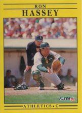 Buy 1991 Fleer #8 Ron Hassey