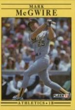 Buy 1991 Fleer #17 Mark McGwire UER