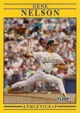Buy 1991 Fleer #19 Gene Nelson