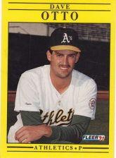 Buy 1991 Fleer #20 Dave Otto