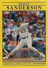 Buy 1991 Fleer #23 Scott Sanderson