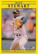Buy 1991 Fleer #25 Dave Stewart