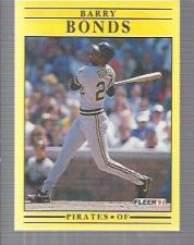 Buy 1991 Fleer #33 Barry Bonds