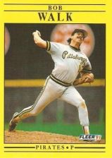 Buy 1991 Fleer #54 Bob Walk