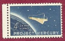 Buy United States (US) Project Mercury 1962 (US Man in Space) #1193