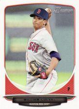 Buy 2013 Bowman Prospects #BP59 - William Cuevas - Red Sox