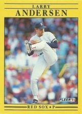 Buy 1991 Fleer #83 Larry Andersen
