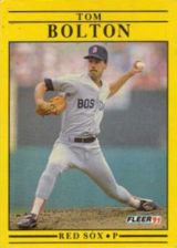 Buy 1991 Fleer #87 Tom Bolton