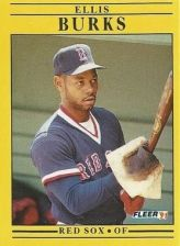 Buy 1991 Fleer #89 Ellis Burks