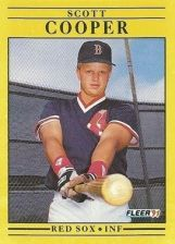 Buy 1991 Fleer #91 Scott Cooper