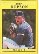 Buy 1991 Fleer #92 John Dopson