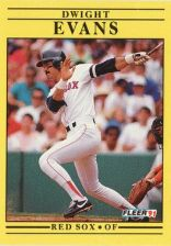 Buy 1991 Fleer #93 Dwight Evans
