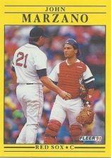 Buy 1991 Fleer #103 John Marzano