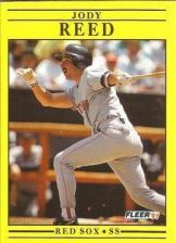 Buy 1991 Fleer #111 Jody Reed