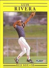 Buy 1991 Fleer #112 Luis Rivera