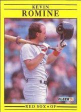 Buy 1991 Fleer #113 Kevin Romine