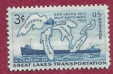 Buy US Stamp 1955 3c Stamp Great Lakes Transportation Scott #1069MNH