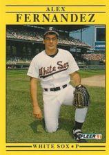 Buy 1991 Fleer #117 Alex Fernandez