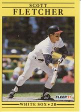 Buy 1991 Fleer #119 Scott Fletcher