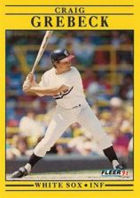 Buy 1991 Fleer #120 Craig Grebeck